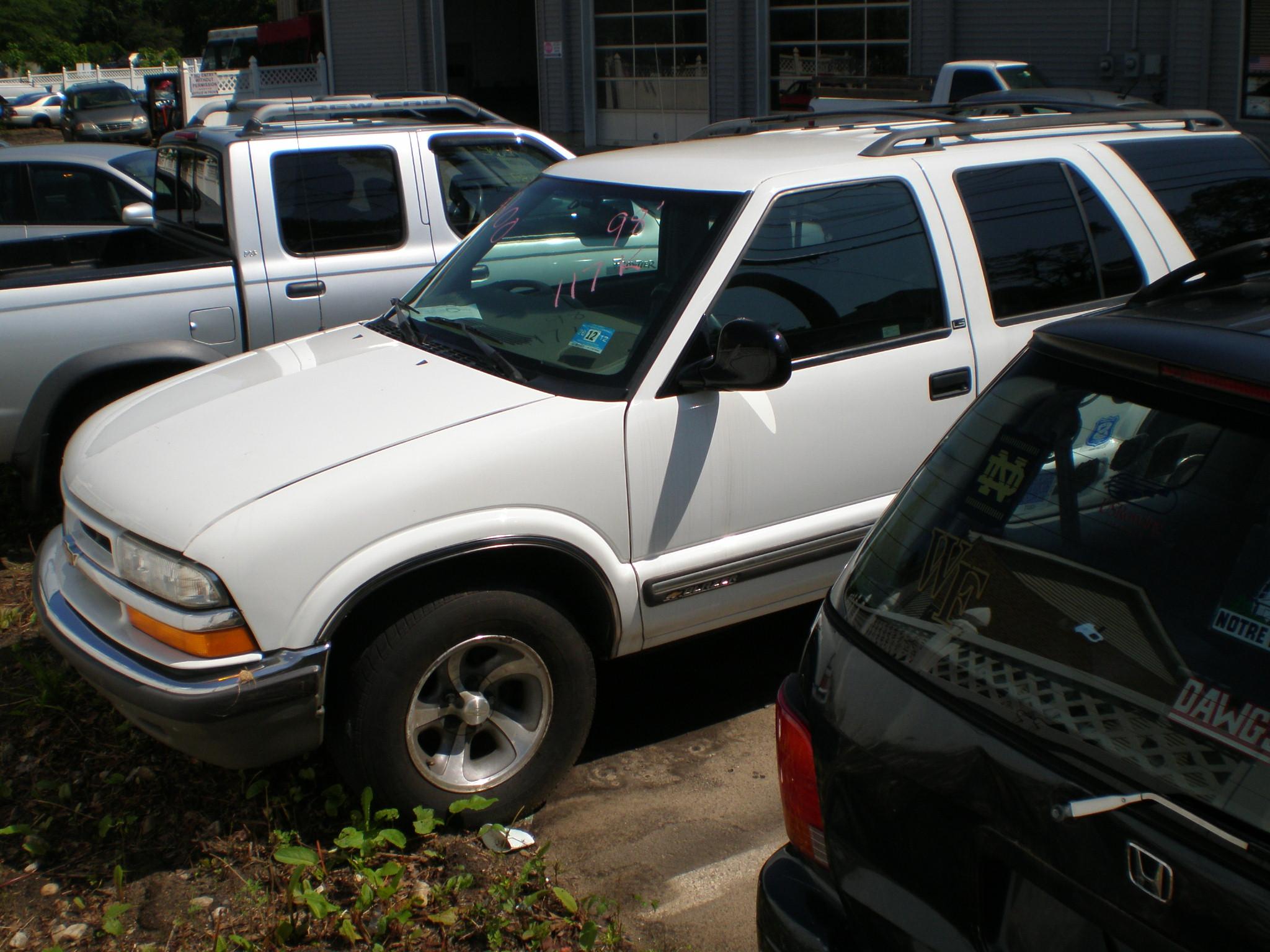 Chevrolet 1998 S10 Blazer Ls 4dr 2wd Wagon F 53 Big A Used Auto Parts