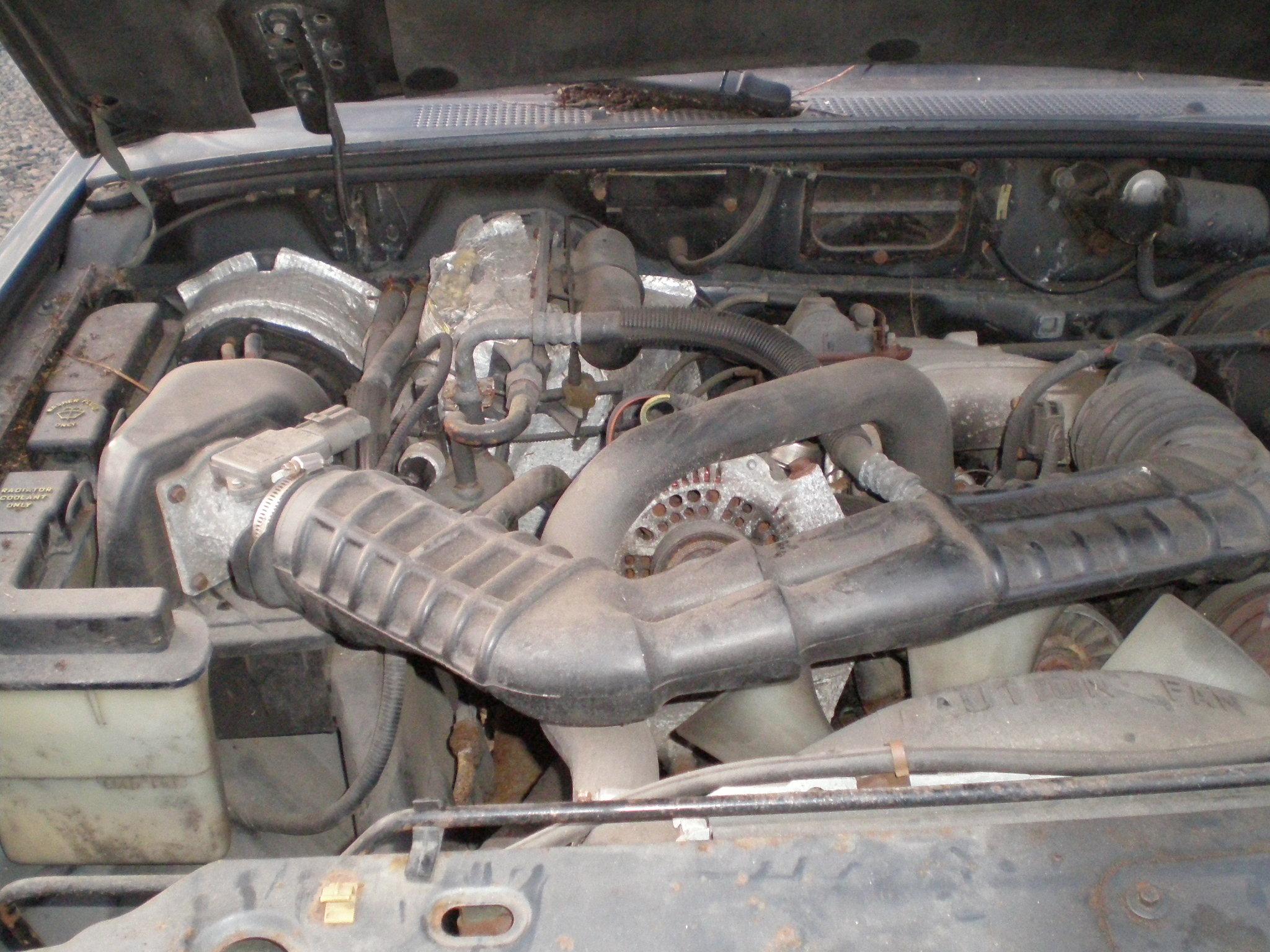 Exterior Car Part Names: Ford 1994 Ranger XLT 2Dr 2WD Ext Cab Short Bed I-5